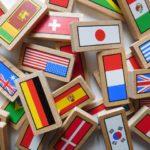 各国の国旗積み木